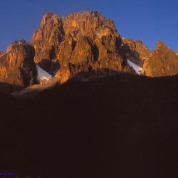 Le massif du Mont Kenya