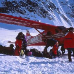 Kahiltna Glacier, Alaska