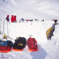 Camp IV, Mont Mac Kinley, Alaska