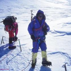 Pause à 6000 mètres, Mont Mac Kinley, Alaska