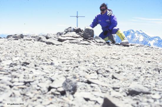 Sommet du Cerro Plomo, 5430m, Chili