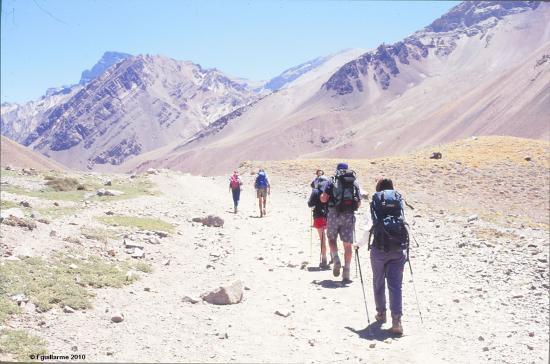 En route vers l' Aconcagua, Argentine