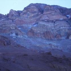 Aconcagua, versant Nord, Argentine