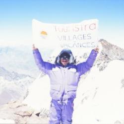 Sommet de l' Aconcagua, 6959m, 20 Janvier 1997, Argentine