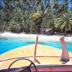 Tourisme nautique, ile de Biak, Indonésie