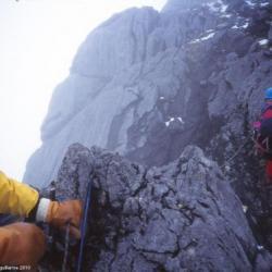 LE passage vers le sommet du Carstensz, 5030m, Papouasie