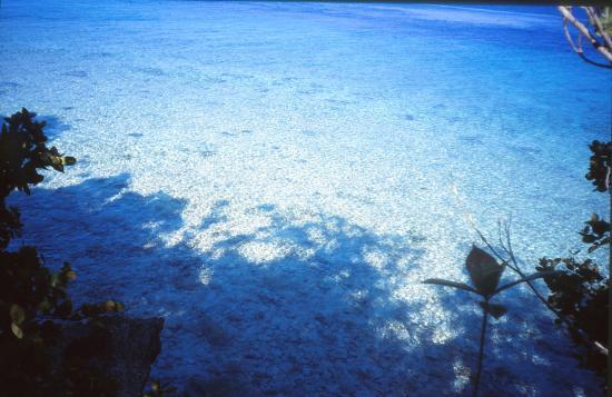 Une vue sur des eaux superbes