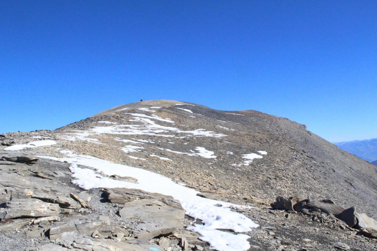 Sommet du mont Buet, 3096 m d'altitude