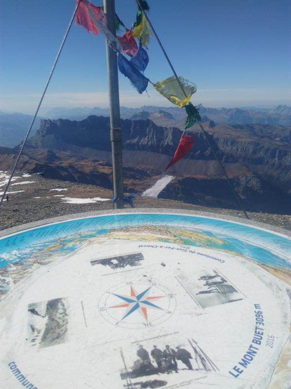 Vue depuis le sommet du mont Buet