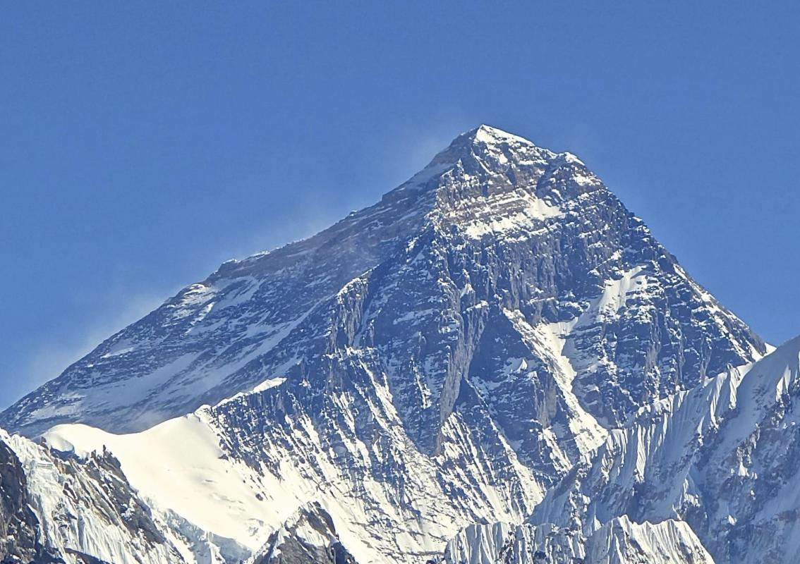 Mt everest from gokyo ri november 5 2012 cropped