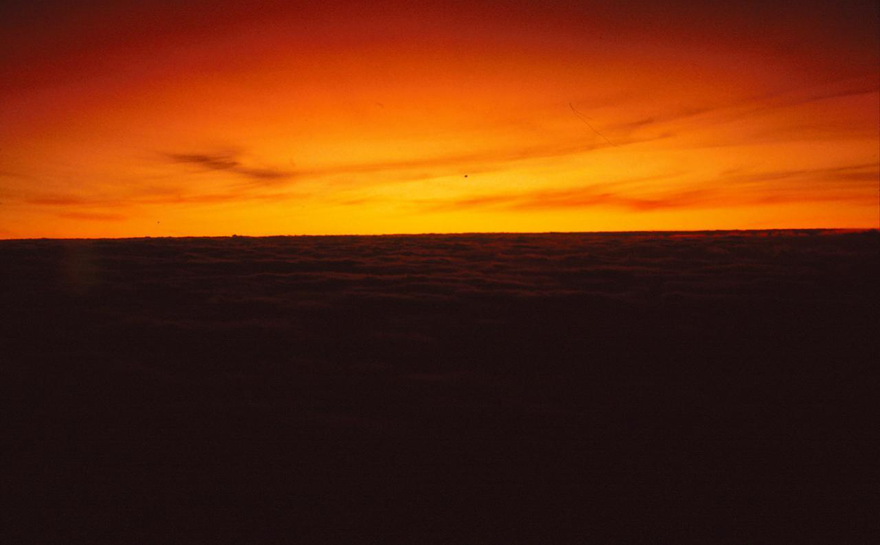 Lever de soleil sur les pentes du Kilimandjaro
