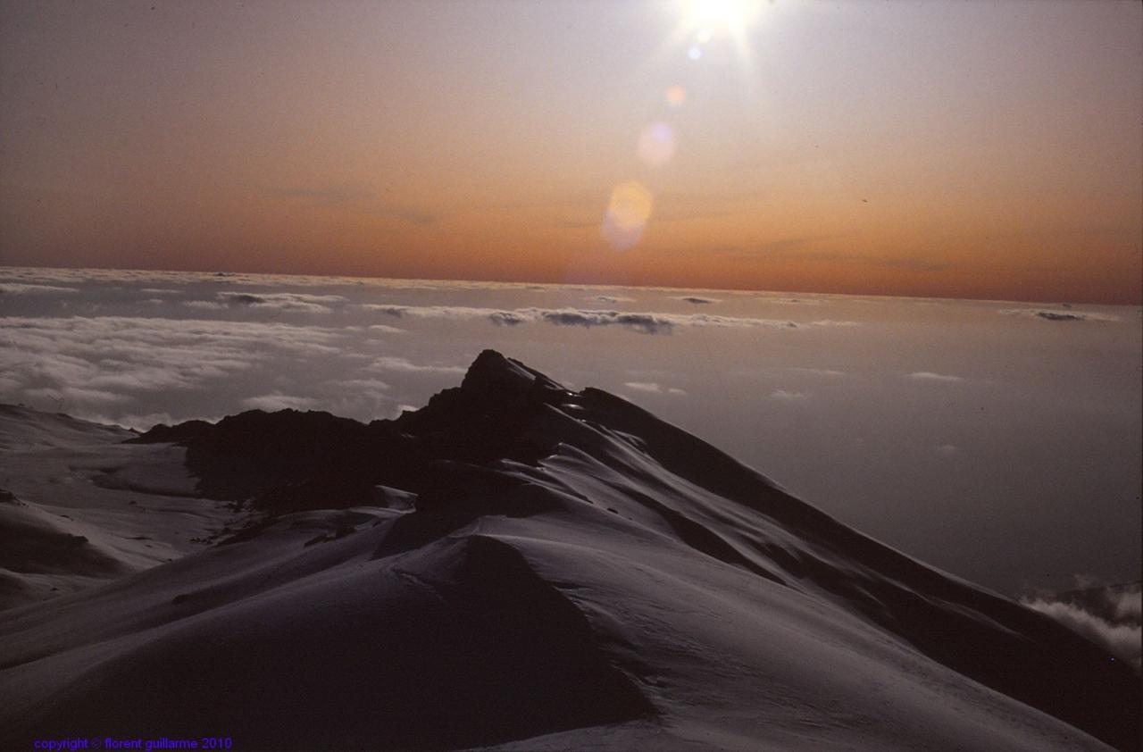 Les neiges...auparavant éternelles, du Kilimandjaro, Tanzanie