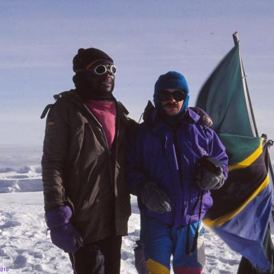 24 Juin 1992, 5895m, Kilimandjaro, Tanzanie