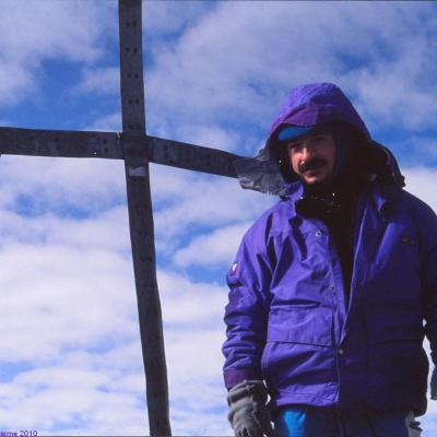 Lenana Peak, 4985m, le 12 Juin 1992, massif du Mont Kenya