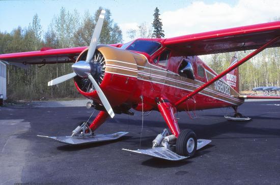 De Havilland, aérodrome de Talkeetna, Alaska