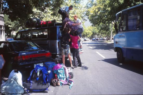 Arrivée à Santiago de Chile