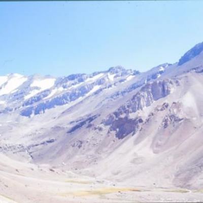 Le massif du Cerro Plomo, Chili