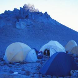 Camp de Nido Del Condor, Argentine