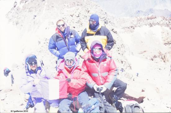Sommet de l' Aconcagua