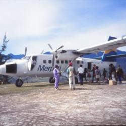 Arrivée à Illaga, Irian Jaya, Papouasie